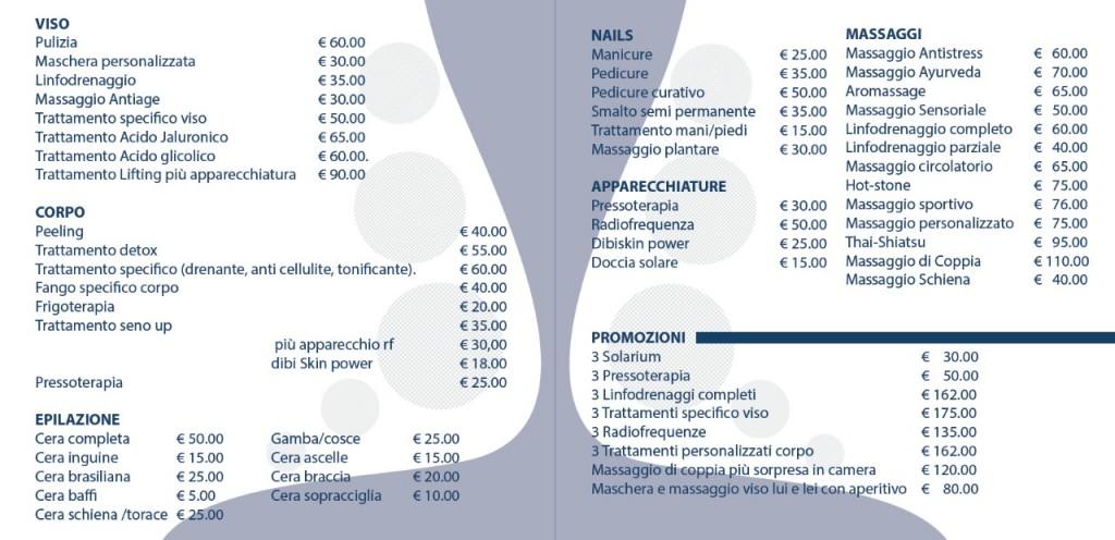 Listino Spa Aragona